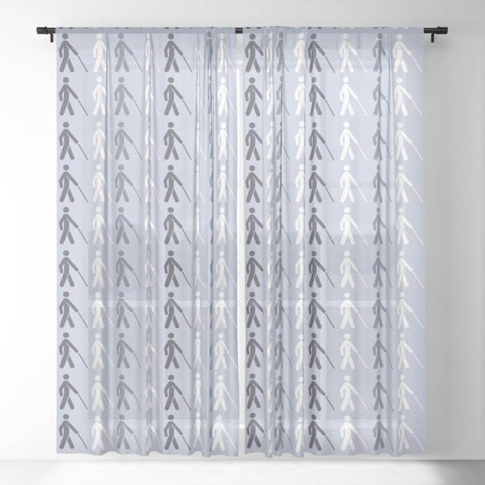 The Cane - For Charity Sheer Curtain