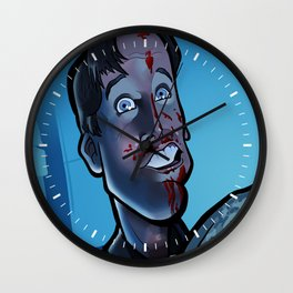 Party's Over Wall Clock