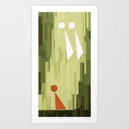 First Vision VII Art Print