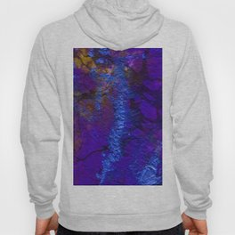 Purple Blue abstract marble Hoody