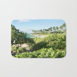 Mokapu Ulua Beach Wailea Maui Hawaii Bath Mat