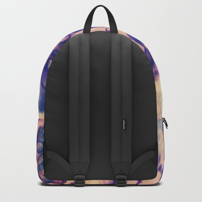 Under The Microscope Abstract Backpack