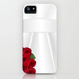 Bride&Groom/Bride's Dress iPhone Case
