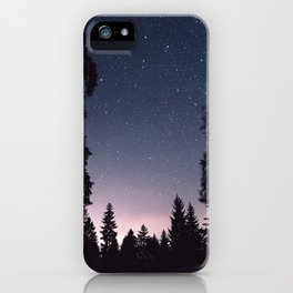 Starry Sunset iPhone Case