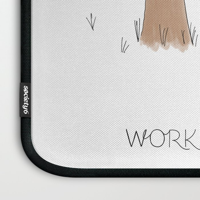 Daily Routine of Web Designers Laptop Sleeve