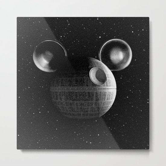 That's no moon... Disney Death Star Metal Print