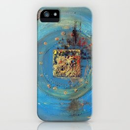 Of the Earth 4 by Nadia J Art iPhone Case