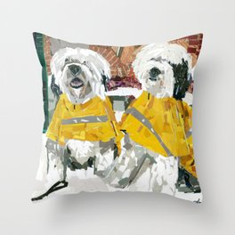 Winston & Duke Throw Pillow
