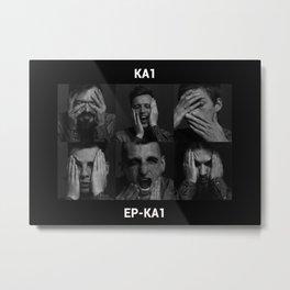 KA1 rock band Metal Print