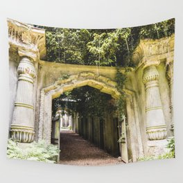 Highgate Cemetery, London - West Cemetery Wall Tapestry