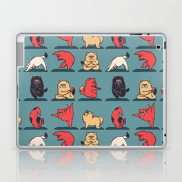 Cat Yoga Laptop & iPad Skin