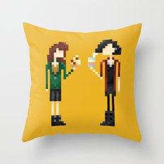 Freakin' Friends III Throw Pillow