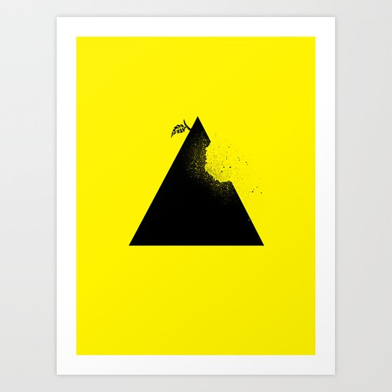 Apple pyramid Art Print
