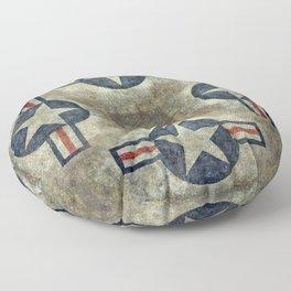 USAF Roundel Floor Pillow
