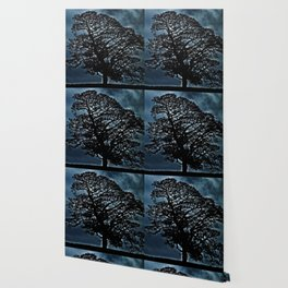 Tree. A simple tree. Wallpaper
