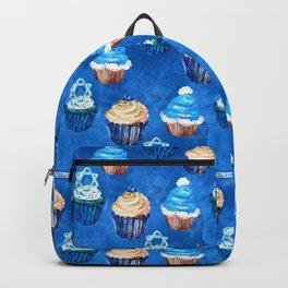 Bubbie's Yummy Hanukkah Sweet Treats and Goodies Pattern Backpack