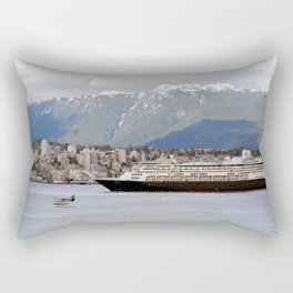 Vancouver Harbour - Canada Rectangular Pillow