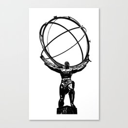 Atlas Canvas Print