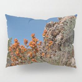 Desert Wildflowers & Cacti in Spring Pillow Sham