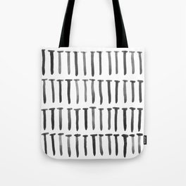 Nails watercolor Tote Bag