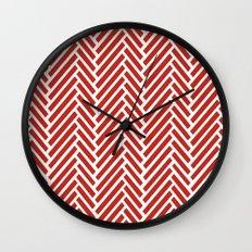 Herringbone Candy Wall Clock