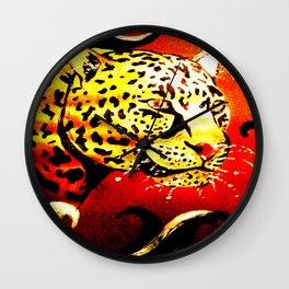 Safari Heat Wall Clock