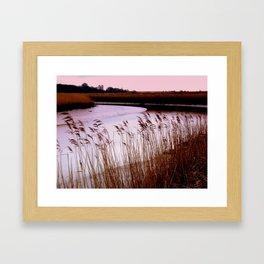 Up a Lazy River Framed Art Print