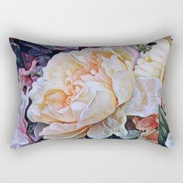 Painted Rectangular Pillow