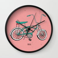 boss Wall Clocks featuring Boss. by shoooes