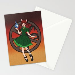 Little Hellcat Stationery Cards