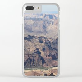 Grand Canyon at Desert View Tower Clear iPhone Case