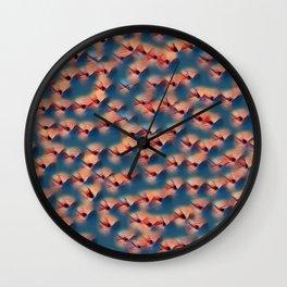 Sunshine Dots Wall Clock