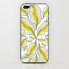 yellow---line iPhone & iPod Skin