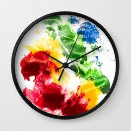 I bleed rainbows II Wall Clock