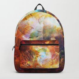 The Cat Galaxy Backpack
