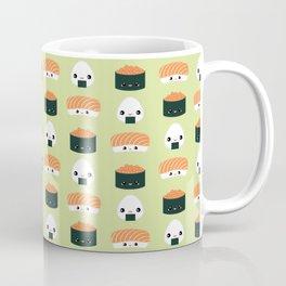 Salmon Dreams in wasabi, large Coffee Mug