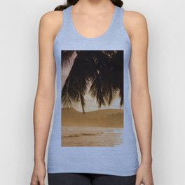 Tropical Sunset Unisex Tank Top