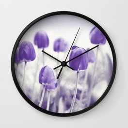 Tulips in spring 282 Wall Clock