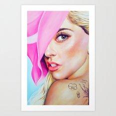 JOANNE #2 Art Print