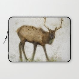 Grand Canyon Elk No. 2 Wintered Laptop Sleeve