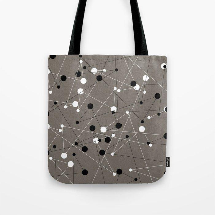 Molecular Pattern Tote Bag