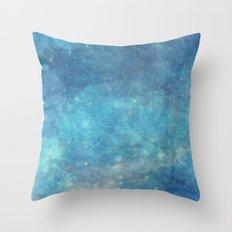 Spellcast Sky Turquoise Throw Pillow