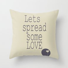 Spread Some LOVE Throw Pillow