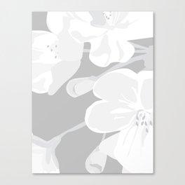 Blossoms: Three Canvas Print