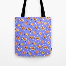 Sailor Moon Brooches Pattern - Blue / Sailor Moon Tote Bag