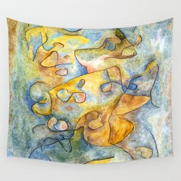 Paul Klee Branches in Autumn Wall Tapestry