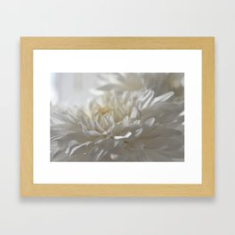 Chrysanthemum Textures Framed Art Print