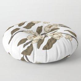 Magnolias Branch Floor Pillow