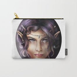 Elven Face Carry-All Pouch