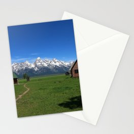 Moulton Homestead and Grand Teton Range Stationery Cards